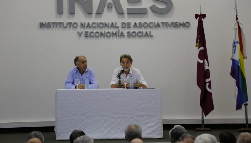 Maderna junto a Cafiero en Consejo Consultivo del INAES