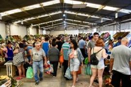 La Feria Trelew Primero cerró el año con gran cantidad de visitantes