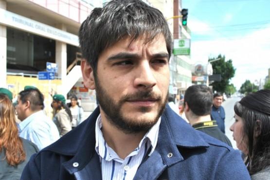 Lucas Otin, secretario de Obras Públicas y Urbanismo. (J.C.C)