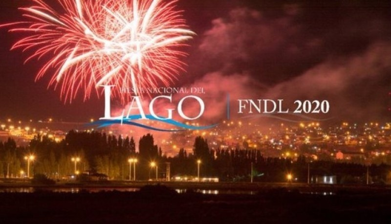 Afiche de la Fiesta Nacional del Lago.