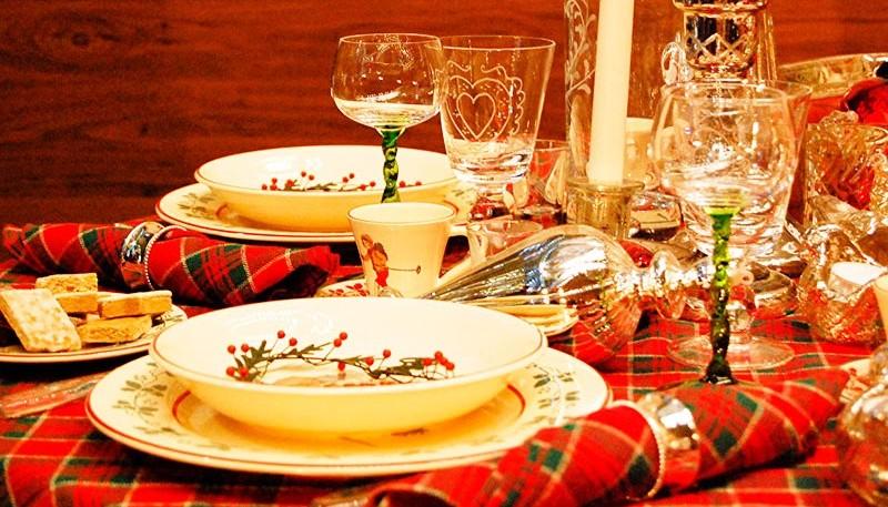 Cena de año nuevo.