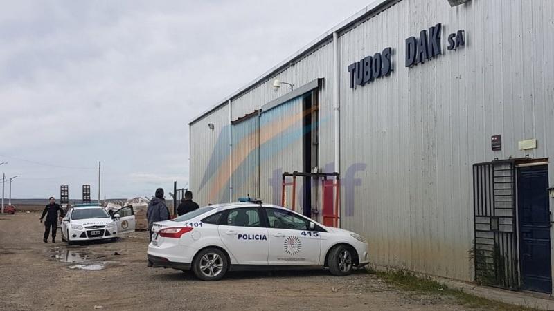 Lugar donde ocurrió el accidente (Actualidad TDF)
