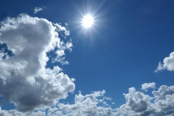 Sol pero con nubes en este 31 de diciembre.