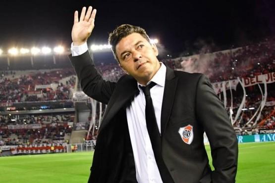 El DT de River Plate, Marcelo Gallardo.
