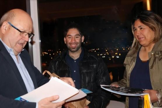 Turistas chilenos fueron los primeros en visitar El Calafate.