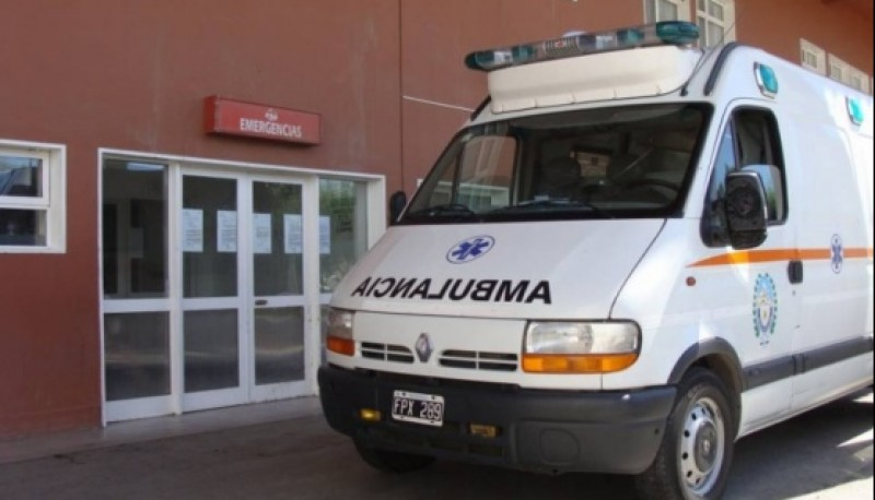 Guardia del Hospital Regional Río Gallegos.