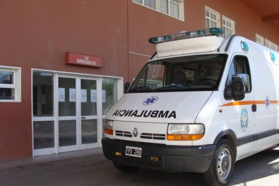 Guardia del Hospital Regional Río Gallegos.