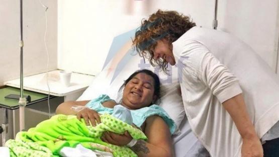 Uno de los recién nacidos en Río Grande.