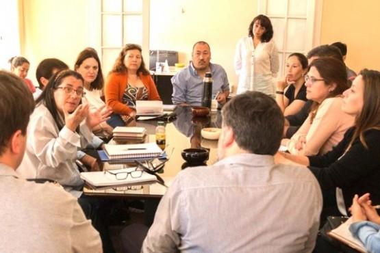 Reunión organizativa por los 500 años de la Primera Misa en Argentina.