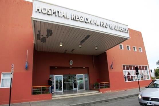 Hospital Regional Río Gallegos.