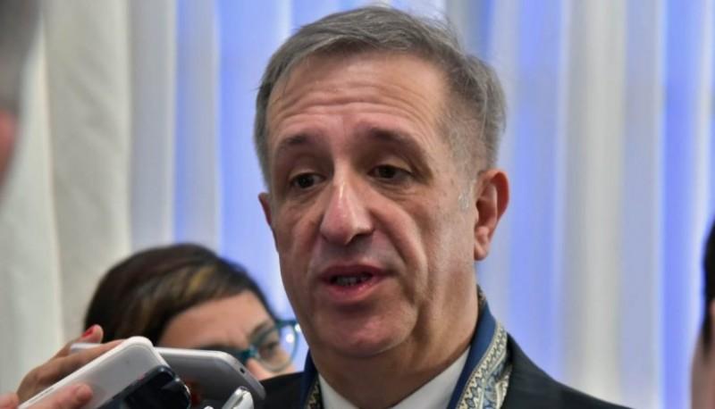 El ministro de Economía de Chubut, Oscar Antonena.