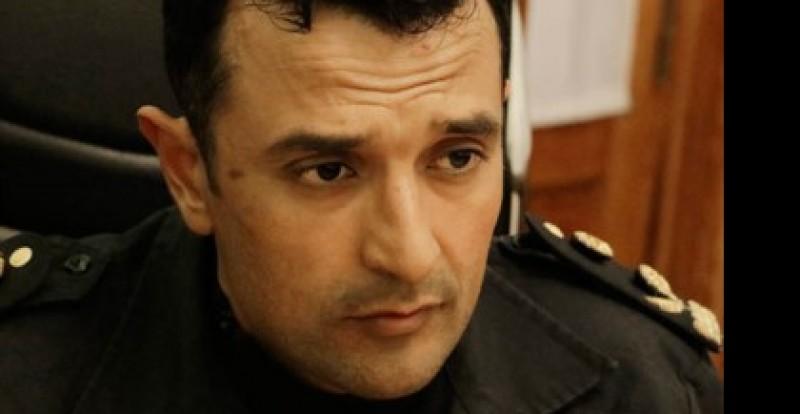 El Jefe de la Policía del Chubut, Miguel Gómez.