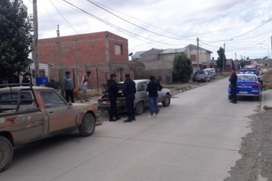 Allanamiento sobre la calle Federico Gallardo al 900