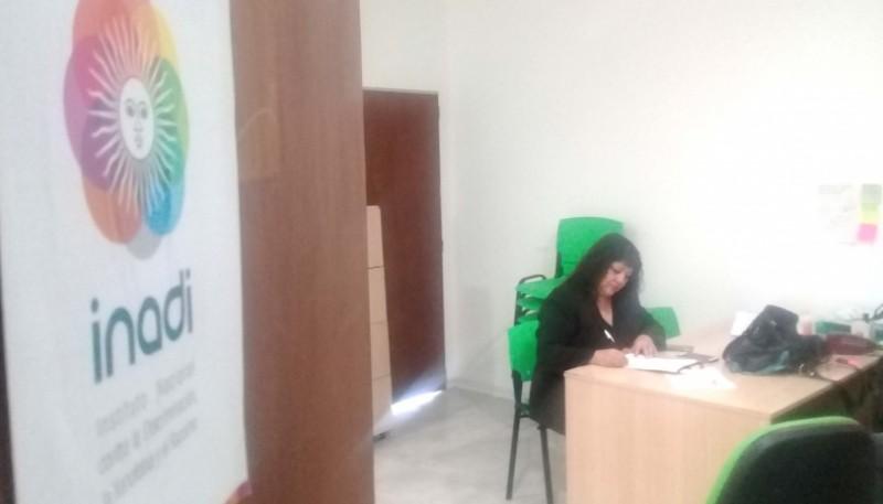 Oficina del INADI.