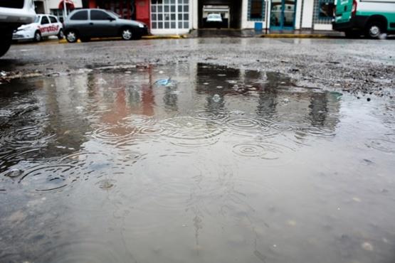 Alerta por lluvias en Río Gallegos y la zona sur de la provincia. (Foto C.R.)