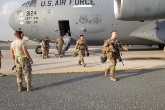 Soldados del ejército estadounidense.