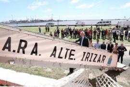 Alberto Fernández dio inicio a la campaña del rompehielos ARA Almirante Irízar