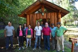 Sánchez abrió el paseo botánico municipal