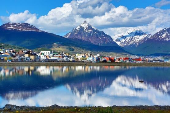 ¡Frío y nieve! El clima este martes en Tierra del Fuego