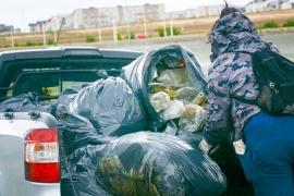 Jornada de limpieza a cargo de 'Quiero un Río Gallegos Limpio'