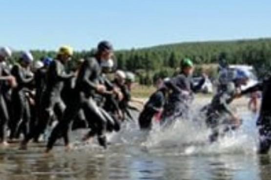 Competencia en aguas abiertas.
