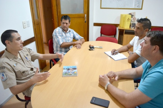 El Municipiopotenciará el trabajo en conjunto con Prefectura