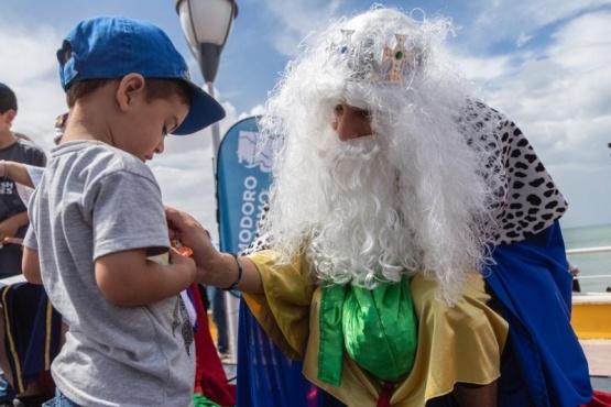Los Reyes Magos en Comodoro.