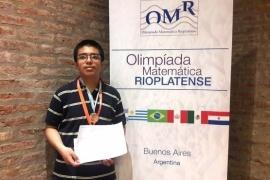 El campeón nacional de matemáticas se prepara para otro año de desafíos