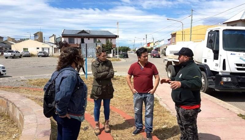 Participación Ciudadana, Espacios Verdes y Saneamiento Ambiental recorren barrios.