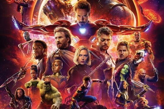 Los superhéroes de Marvel.