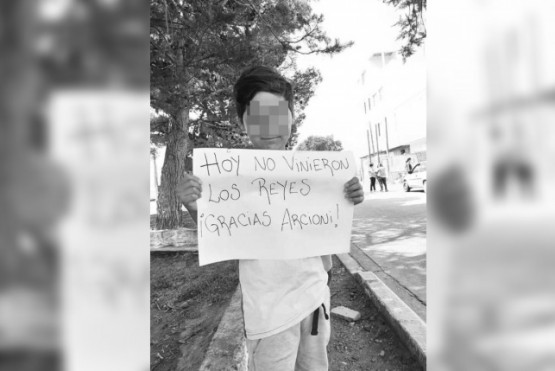 Jornada de reclamos en Chubut.
