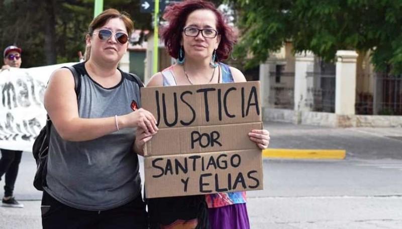 Marcha en Las Heras pidiendo justicia.