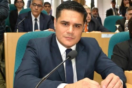 Martín Chávez en la Cámara.