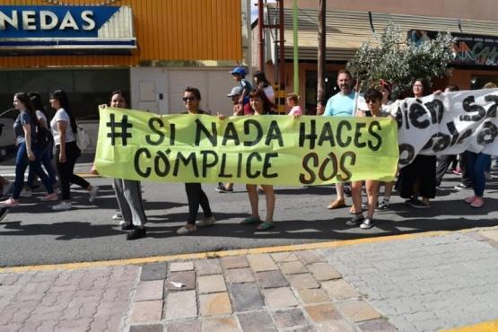 Marcha realizada días atrás pidiendo justicia.