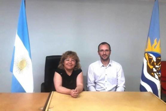 Concejales Gatica y Lavié.