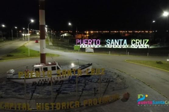 Ciudad de Puerto Santa Cruz.