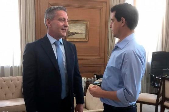 """Arcioni junto a """"Wado"""" de Pedro"""