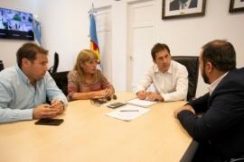 Grazzini y Luque buscan trabajar en los subsidios para el transporte
