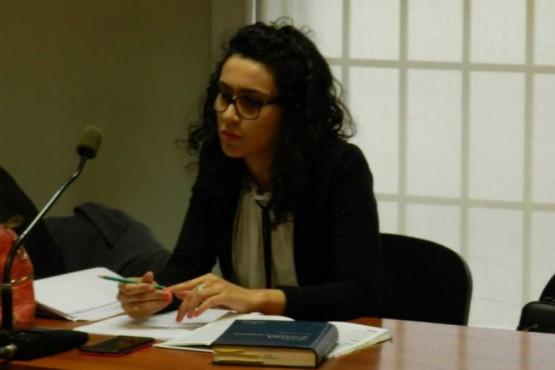 La funcionaria de fiscalía Anya Pucheta