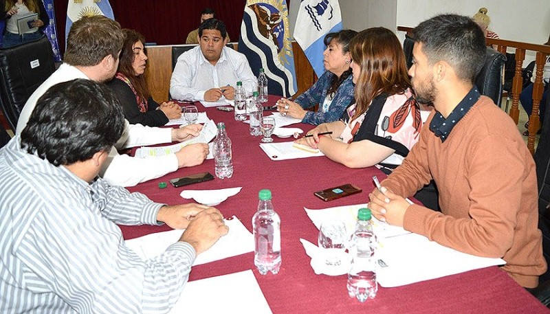 Reunión de ayer en el HCD.