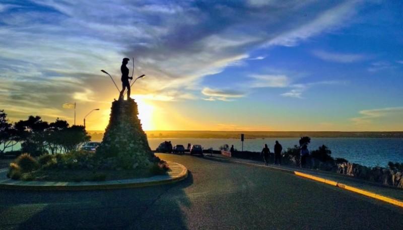 El Indio de Puerto Madryn.