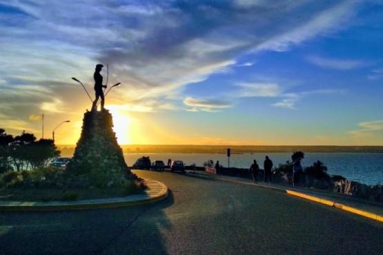 Así está el clima este lunes en Chubut