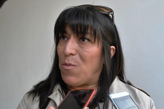Alejandra Vásquez, titular de Desarrollo Comunitario. (Foto J.C.C.)