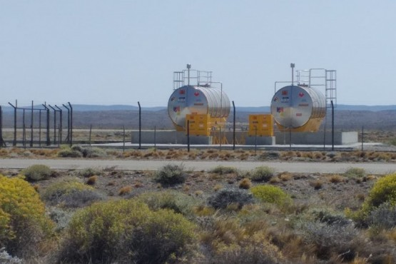 Tanques de combustible.