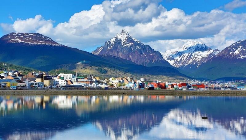 Hoy y mañana lluvias en Tierra del Fuego.