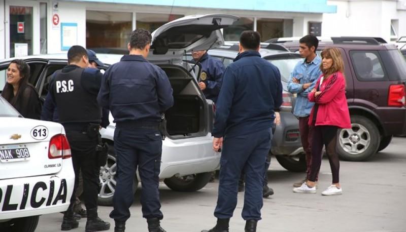 Allanamiento y secuestro de un vehículo.