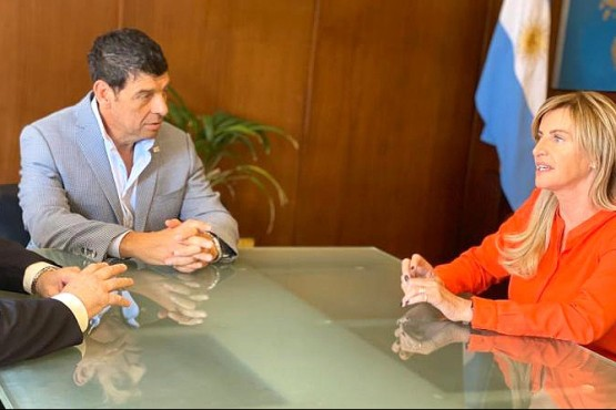 Collia y Medina, funcionarios de Salud de Nación.