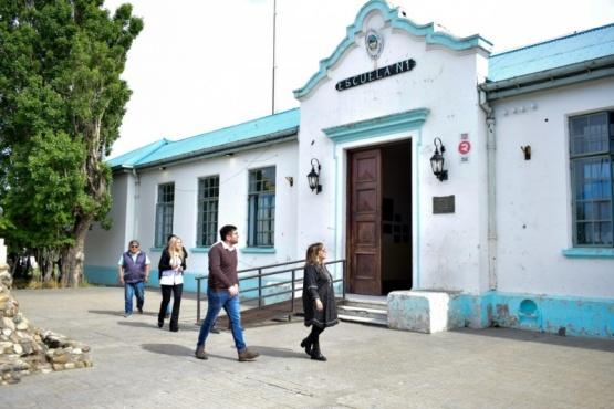 La recorrida fue encabezada por María Cecilia Velázquez, presidenta del CPE.