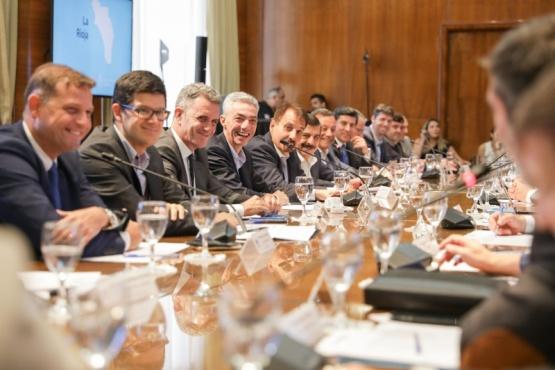 Reunión con los representantes provinciales.