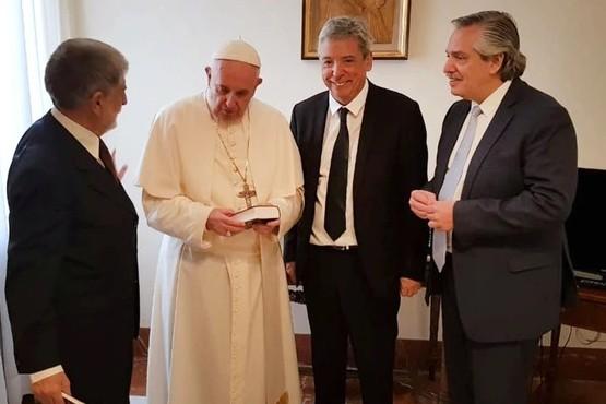 La última visita de Fernández al Papa fue en agosto de 2018.